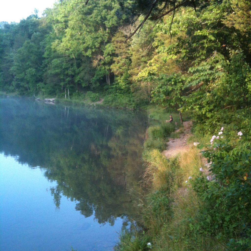 Mirror Lake. Keep our lands clean