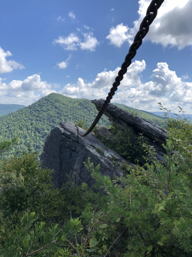 Chained Rock View