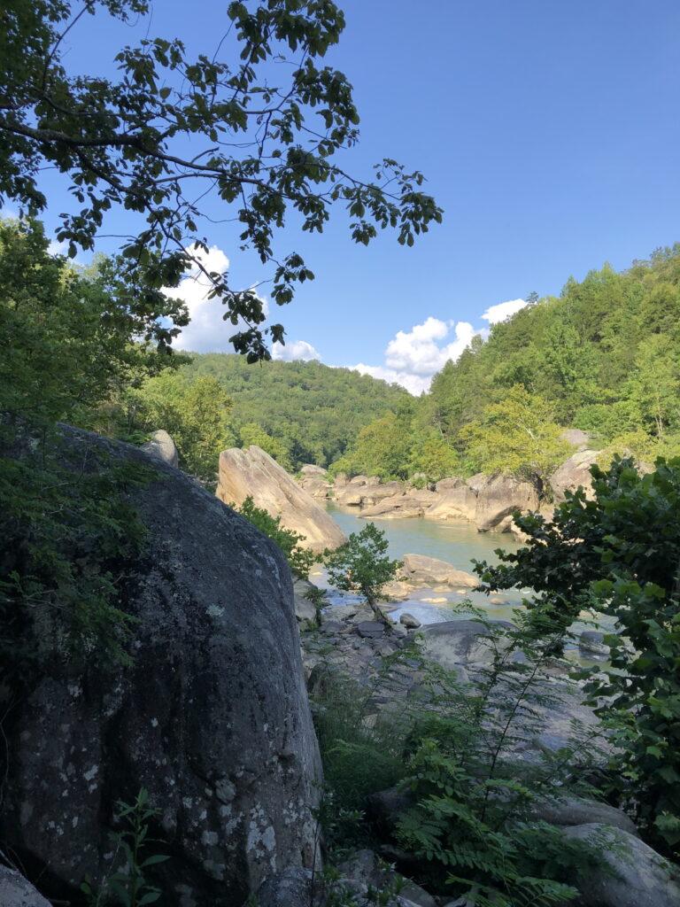 Eagle Falls Trail View