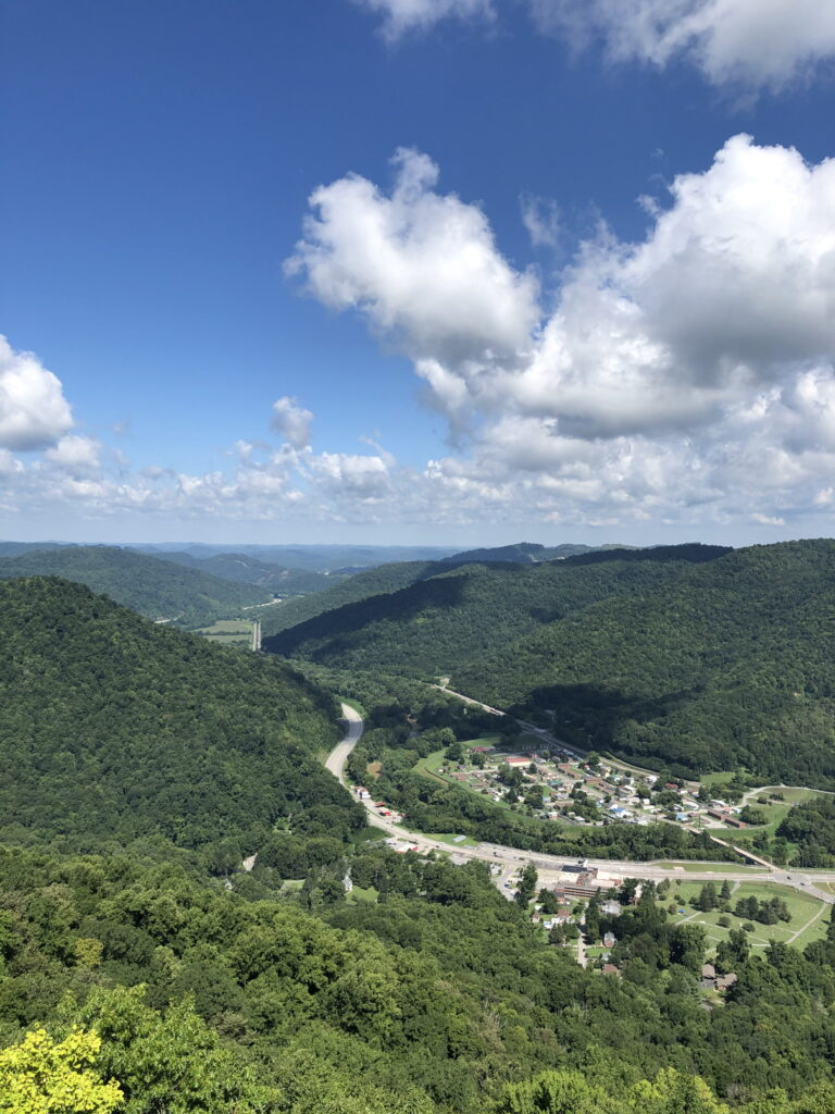Brocation stop 4 - Pineville Lookout