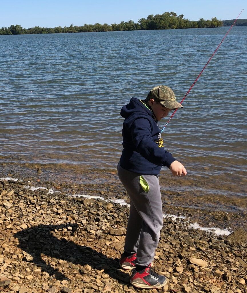 Scout fishing - Maximize your child's scouting experience
