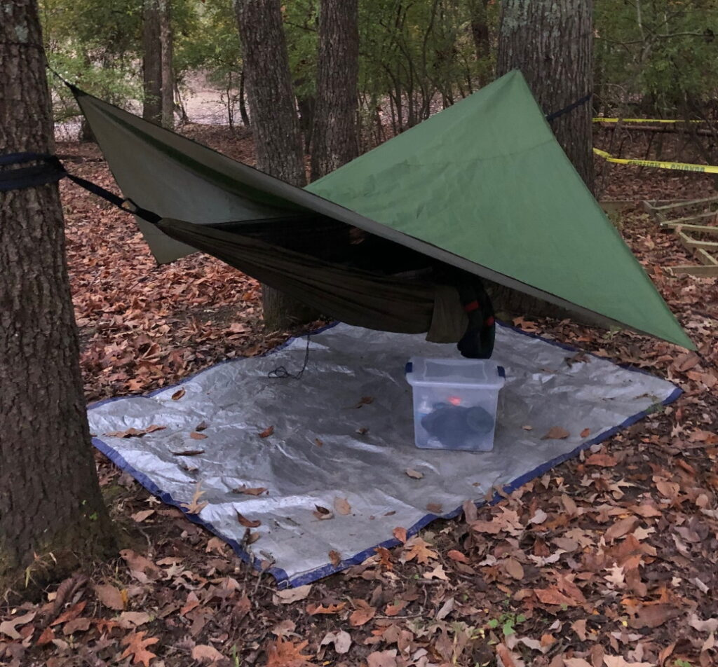 Hammock Tent - Maximize your child's scouting experience