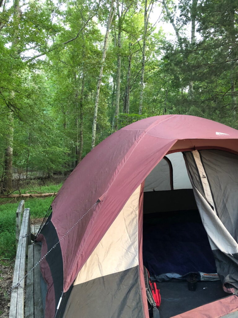 Take your kids camping Tent camping