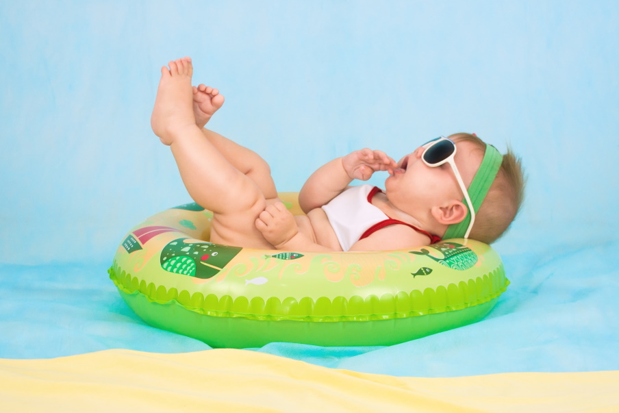 Incredible items for parents - Baby floaty