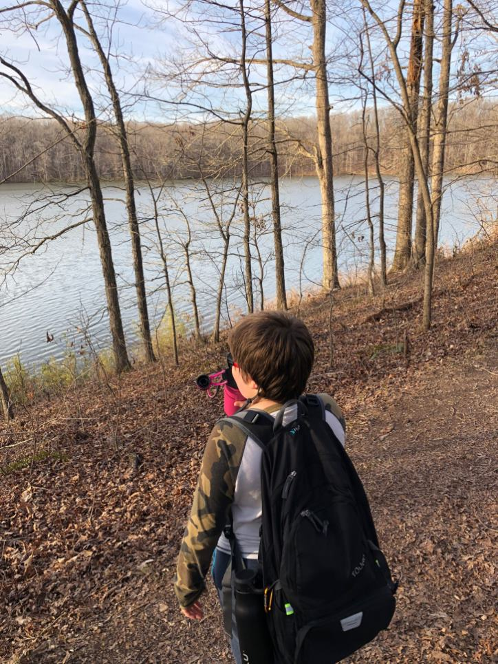 How to do a hiking trip with kids Hiking at Hematite Lake Trail