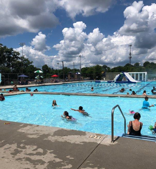 Warner Park Pool at Chattanooga TN Kiddie Pool