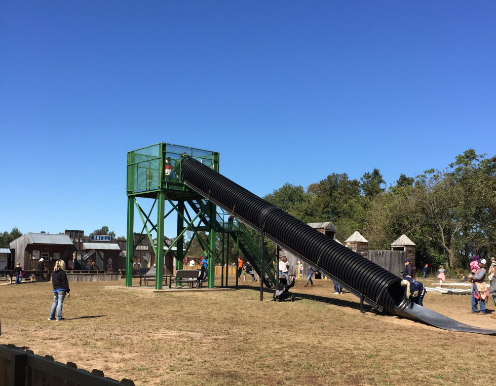 Beggs Family Farm big slide