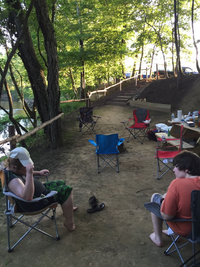 How to be a better father to your teenage son Camping near Morehead KY