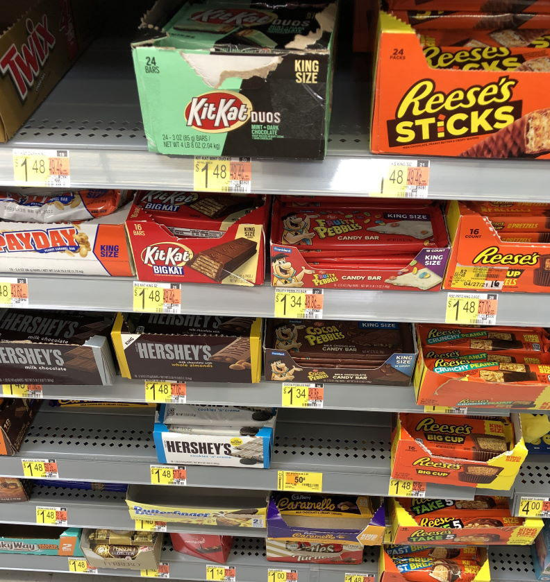 Grocery shopping skills to teach our kids Avoid checkout candy