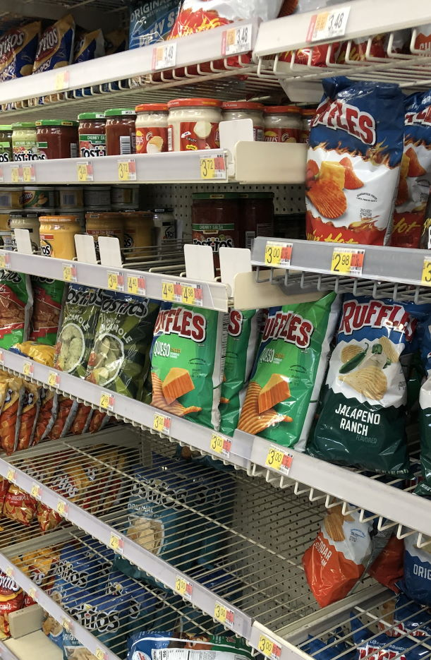 Grocery shopping skills to teach our kids Chips and queso